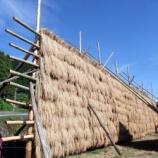 『稲刈りが終わったら、脱穀』の画像