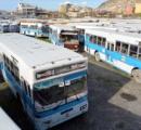 日本が22億円かけて寄贈した80台のバス。大半が野晒しで放置状態。「ぶっ壊れて直せない」www
