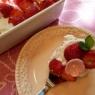 くらしのアンテナに掲載です!バームクーヘンといちごのスコップケーキ