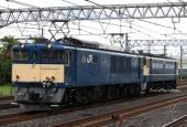 『2021/8/18運転 EF65-1104長野廃車配給』の画像