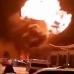 【動画】中国、新年初日から爆発!今度は黒竜江省の空港でドカーン!火球膨らむ [海外]