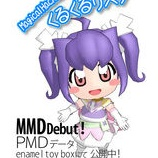 『「Magical Hacker☆くるくるリスク」MMDモデル再公開について』の画像