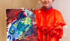 【元乃木坂46】伊藤万理華、最新のアート作品が凄い!