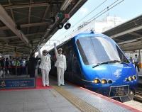 『伊豆観光列車  THE ROYAL EXPRESS  7月21日運行開始!』の画像