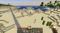 ピラミッド区に馬小屋を作る