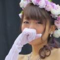 東京大学第65回駒場祭2014 その153(ミス&ミスター東大コンテスト2014の56(ウェディング・吉田菜季の涙の1))