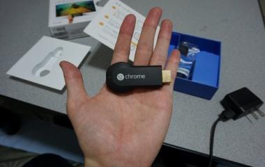 『YouTubeをテレビの大画面で楽しむ【Google Chromecast】を買いました!』の画像