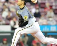 【阪神】西勇輝、1点先制直後の初回に同点許す…1死満塁から坂倉将吾の右犠飛で失点