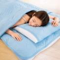 涼感寝具「ファイブスター」シリーズはサラっとした肌…