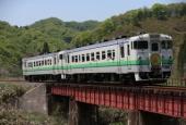 『2014/5/11運転 江差線普通列車HM掲出』の画像