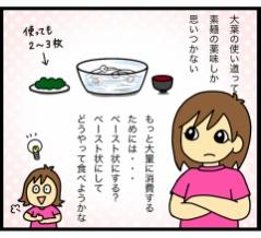 【意外に子供ウケ抜群!】庭になる大量の大葉を消費したレシピ