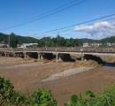 今回の台風でそこそこ被害があった地域やけど今日撮った写真を貼るで