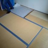 『西区立売堀にお住まいのお客様宅の畳の新調入れ替え〜』の画像