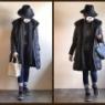 アラフォーファッション*モノトーンコーデに、プチプラ差し色アイテムを追加