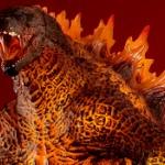 ハリウッド版「ゴジラ2」より、最強の「バーニング・ゴジラ」が特大フィギュアで登場