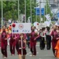 2018年横浜開港記念みなと祭国際仮装行列第66回ザよこはまパレード その23(茅ヶ崎バトン)