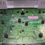 『スズキ ワゴンRスティングレー エアコンパネルのLED打ち換え(LED交換)手術』の画像