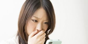 夫の携帯を見たら会社のパートの人と仲良くメールしていた。これってウワキに片足突っ込んでるよね…