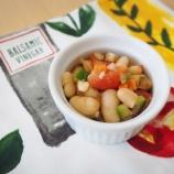 『レシピ:簡単!白インゲン豆のデリ風サラダ』の画像