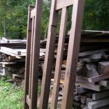 『薪小屋つくり・3』の画像