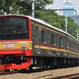 『踏切事故当該!!205系武蔵野線M5編成、ブキットドゥリ電車区へ回送(9月17日)』の画像