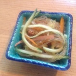 『【OYAJI飯】甘酸っぱさが懐かしくてくせになる!中華春雨サラダです』の画像