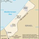 『ガザ地区の空爆の陰で』の画像
