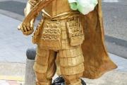 【愛知】名古屋の織田信長像、左腕もがれる 器物損壊容疑で捜査