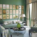 『緑の壁が おしゃれすぎる、インテリア参考写真まとめ 2/3 【インテリアまとめ・リビング 】』の画像