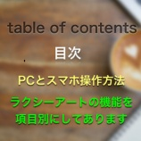 『サイトの目次』の画像