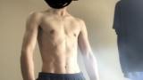 ガリガリに痩せたら筋トレしてないのに腹筋が割れ始めてワロタ(※画像あり)