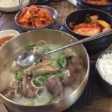 『【韓国・ソウルの旅】有名店ヌティナムでソルロンタン。キムチも美味しかった!』の画像