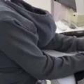 【子ネコ】 お姉さんが「パソコン作業」をしていた。パーカーを前後逆に着ている。なんでかな? → こういうことでした…