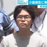 『【新幹線3人殺傷事件】小島一朗被告(23)に無期懲役を求刑「刑務所に行きたい、それも無期懲役囚になりたい」』の画像