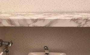 有り合わせで作ったトイレの収納棚