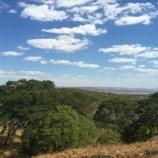 『【ザンビア】ザンビアのなだらかな山々の風景、心のひだ。』の画像