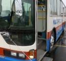 1時間で3回自損事故 養護学校の送迎バス/八戸
