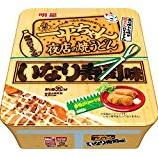 『【コンビニ:焼うどん】一平ちゃん夜店の焼うどん いなり寿司味』の画像