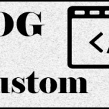 『【ブログカスタマイズ】ヘッダー画像を変更、TOPページリンクを付ける』の画像