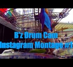 [シェーン・ガラス] B'z Drum Cam Instagram Montage #1(動画)