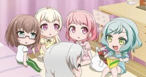 【ガルパ☆ピコ】第23話 感想 パジャマパーティーでもブシドー