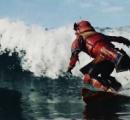 【衝撃動画】サムライがスキーに挑戦 → 刀をストックにして滑る → 二刀流でジャンプ → 空中回転(笑)