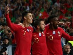 【 動画 】ポルトガル代表クリロナさんのハットトリックを見ると日本代表のシュートが凄く下手に見える・・・
