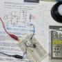 ダイソー グリーンオーナメント 調光タッチスイッチライトの実験