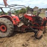 『トラクターの事故』の画像
