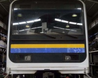 『伊豆急行にやってきた209系電車』の画像