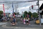 織姫を祀る神社、交野の機物神社の七夕祭りに人めっちゃ来てる!近くのスーパー万代にも屋台とか