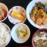 『2号館昼食( えびの甘酢あん )』の画像