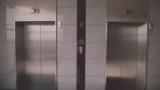 会社の清掃員のおっさん、専務が乗ってるエレベーターに乗り込もうとしてしまう