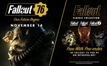 PC版『Fallout 76』の予約者限定『Fallout Classic Collection』を無料で提供